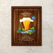 Bière événement 3d model