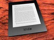 kindle e-book reader 3d model