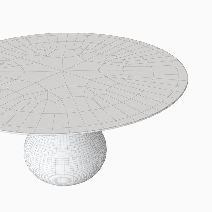 Roche Bobois Table De Repas Aqua 3d Model 10 Obj Fbx 3ds