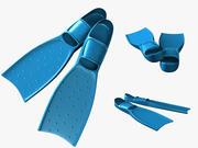 Palet Yüzgeçleri 3d model