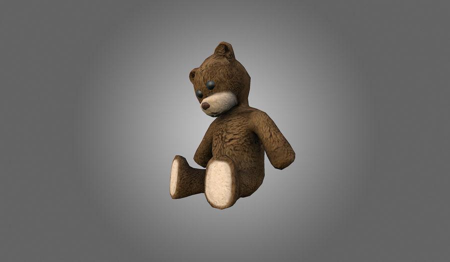 Teddy Bear Düşük Poli royalty-free 3d model - Preview no. 4