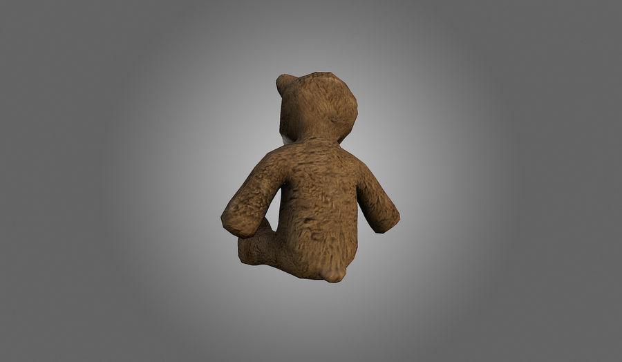 Teddy Bear Düşük Poli royalty-free 3d model - Preview no. 6