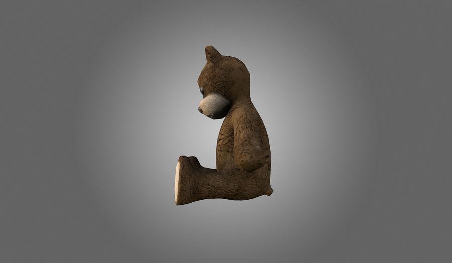 Teddy Bear Düşük Poli royalty-free 3d model - Preview no. 5