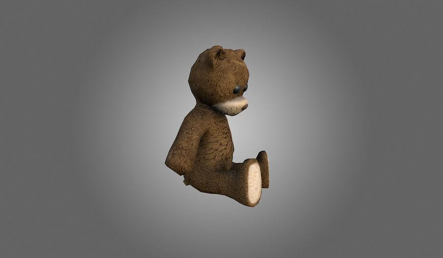 Teddy Bear Düşük Poli royalty-free 3d model - Preview no. 8