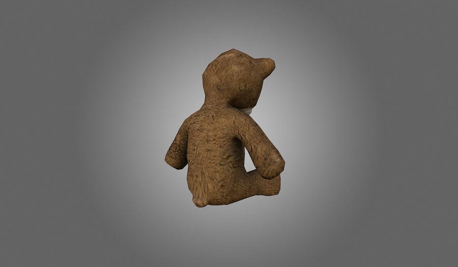 Teddy Bear Düşük Poli royalty-free 3d model - Preview no. 7
