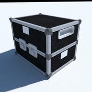 Flight case small 3d model