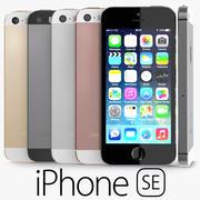 苹果iPhone SE 3d model