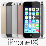 Apple iPhone SE 3d model