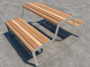 Tables de pique-nique 3d model