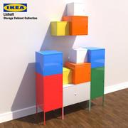 Ikea Lixhult Storage Cabinet 3d model