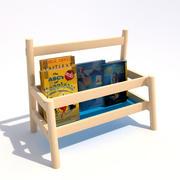 Ikea Flisat Book Display 3d model