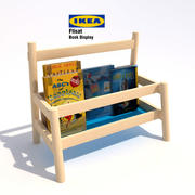 Ikea Flisat Book Display 3d model