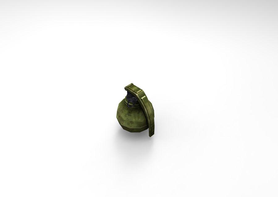 grenade basse poly jeu prêt royalty-free 3d model - Preview no. 44