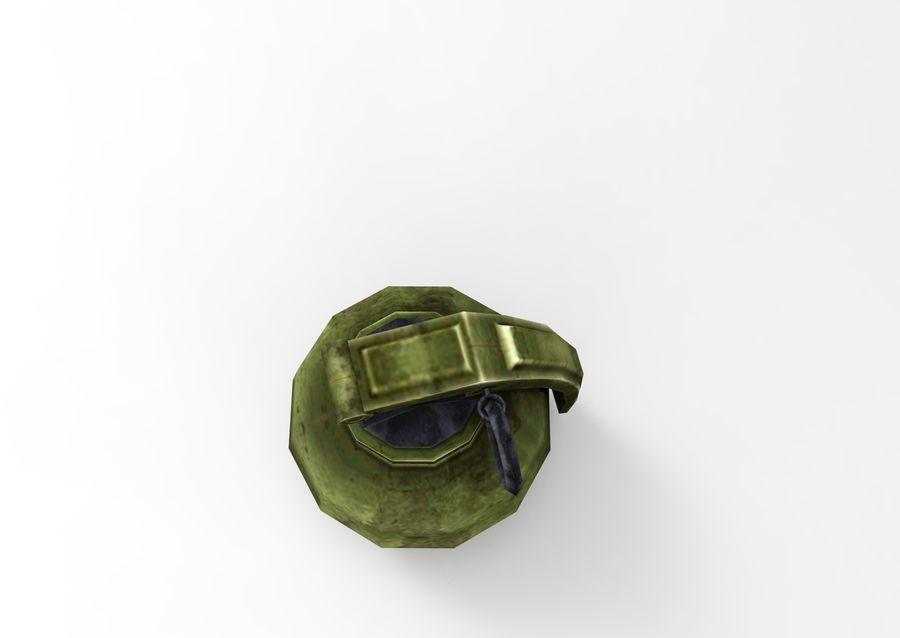 grenade basse poly jeu prêt royalty-free 3d model - Preview no. 32