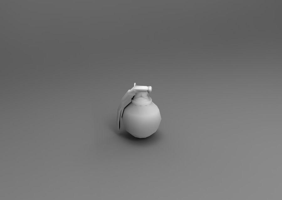 grenade basse poly jeu prêt royalty-free 3d model - Preview no. 48