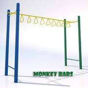 Monkey Bars-002 3d model