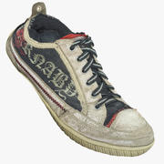 Carnaby Old Sneakers 3d model