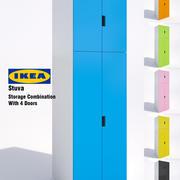 Ikea Stuva Storage Cabinet-02 3d model