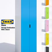 Ikea Stuva Storage Cabinet-03 3d model