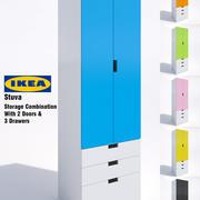 Ikea Stuva Storage Cabinet-04 3d model