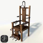 电动椅低聚 3d model