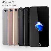 iPhone 7 w pełnym kolorze 3d model