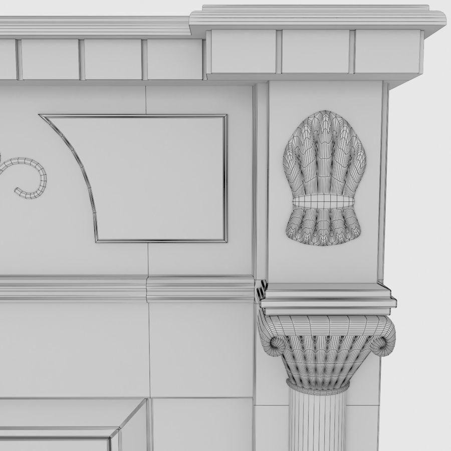 벽난로 다코타 코너 royalty-free 3d model - Preview no. 6