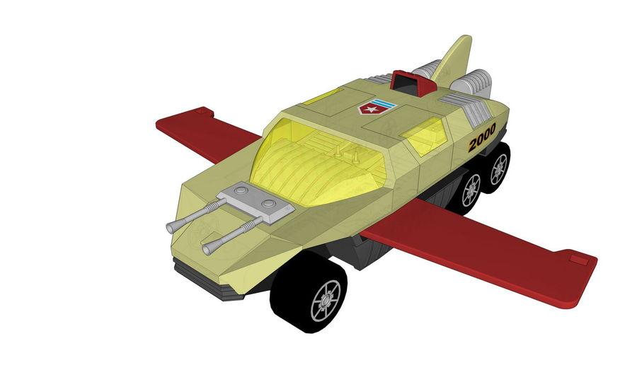 Flight Hunter royalty-free 3d model - Preview no. 2
