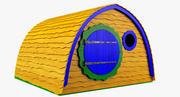 호빗의 집 3d model