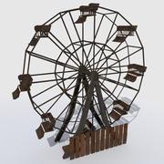 Altes verlassenes Riesenrad 3d model