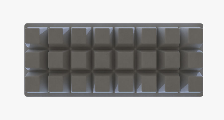 Ice cube tray four royalty-free 3d model - Preview no. 7