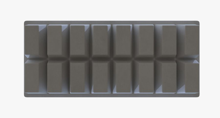 Ice cube tray two royalty-free 3d model - Preview no. 7