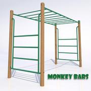 Monkey Bars 3d model