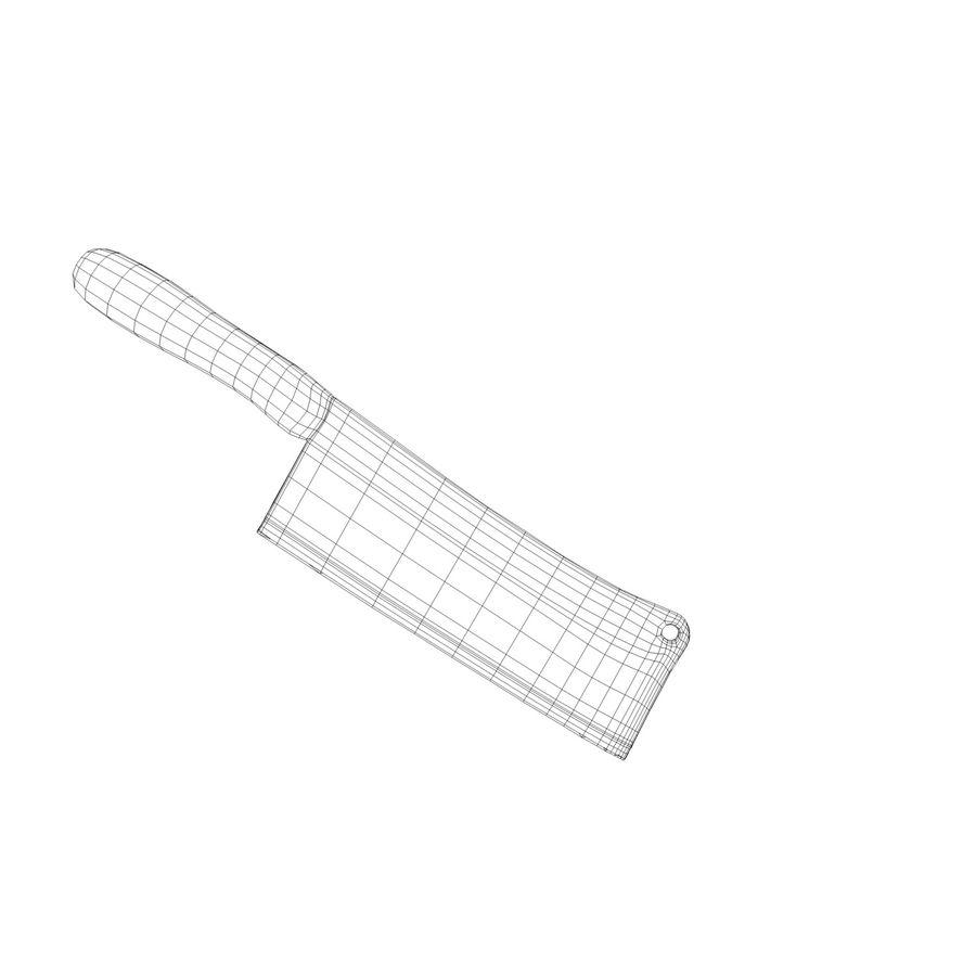 stary tasak royalty-free 3d model - Preview no. 8