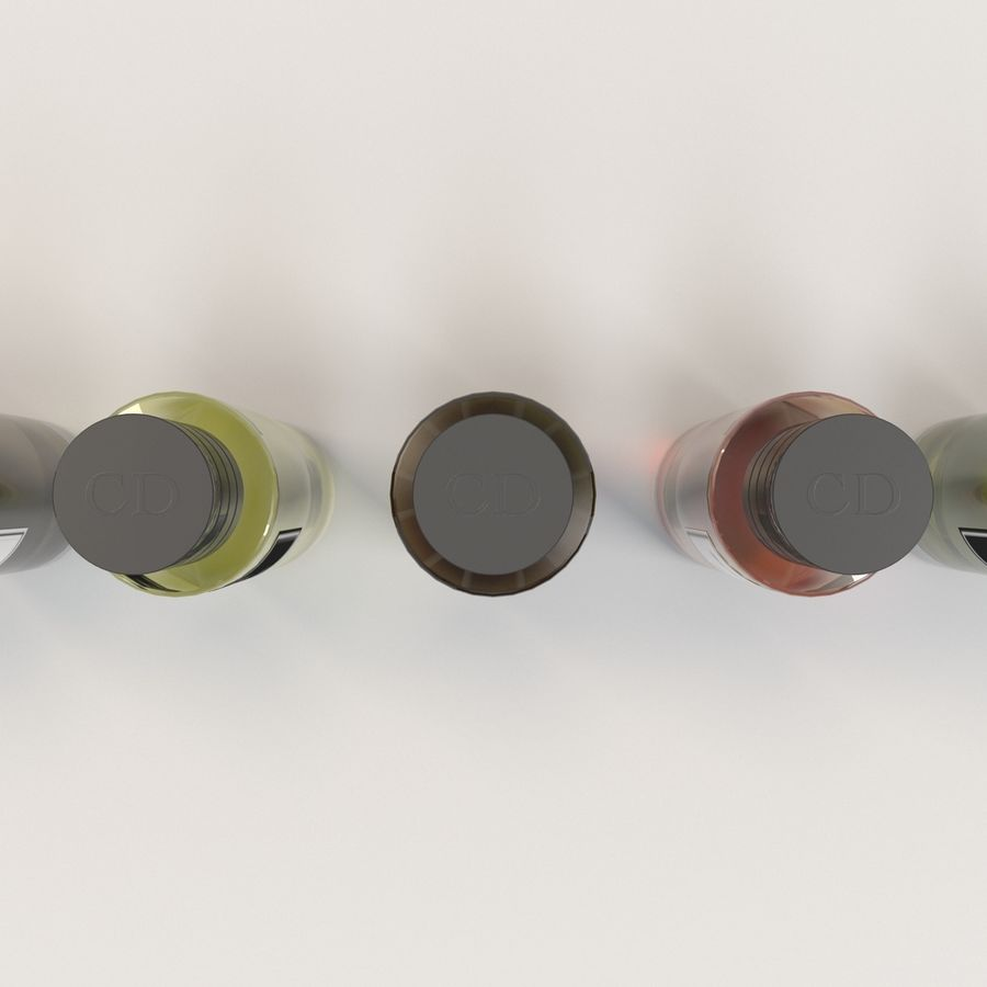 Ароматы DIOR royalty-free 3d model - Preview no. 3