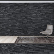 3D Seamless Stacked Stone Wall 3 3d model