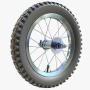 Koło rowerowe dla dzieci 01 3d model