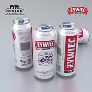 Beer Can Zywiec 500ml 3d model