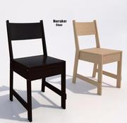 宜家Norraker椅子 3d model