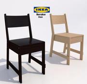 Krzesło Ikea Norraker 3d model