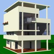 Villa Baizeau 3d model