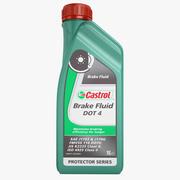 Castrol Brake Fluid DOT 4 3d model