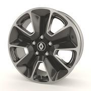 Renault Duster stock wheel 3d model