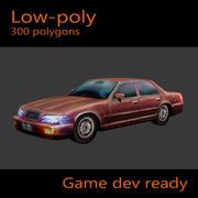 Auto Limousine 3d model