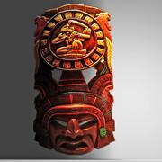 阿兹台克面具 3d model