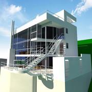 Douglas House 3d model