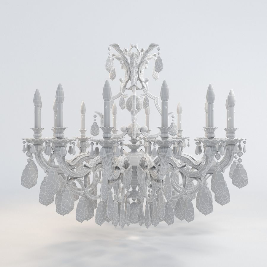 new orleans luster royalty-free 3d model - Preview no. 7