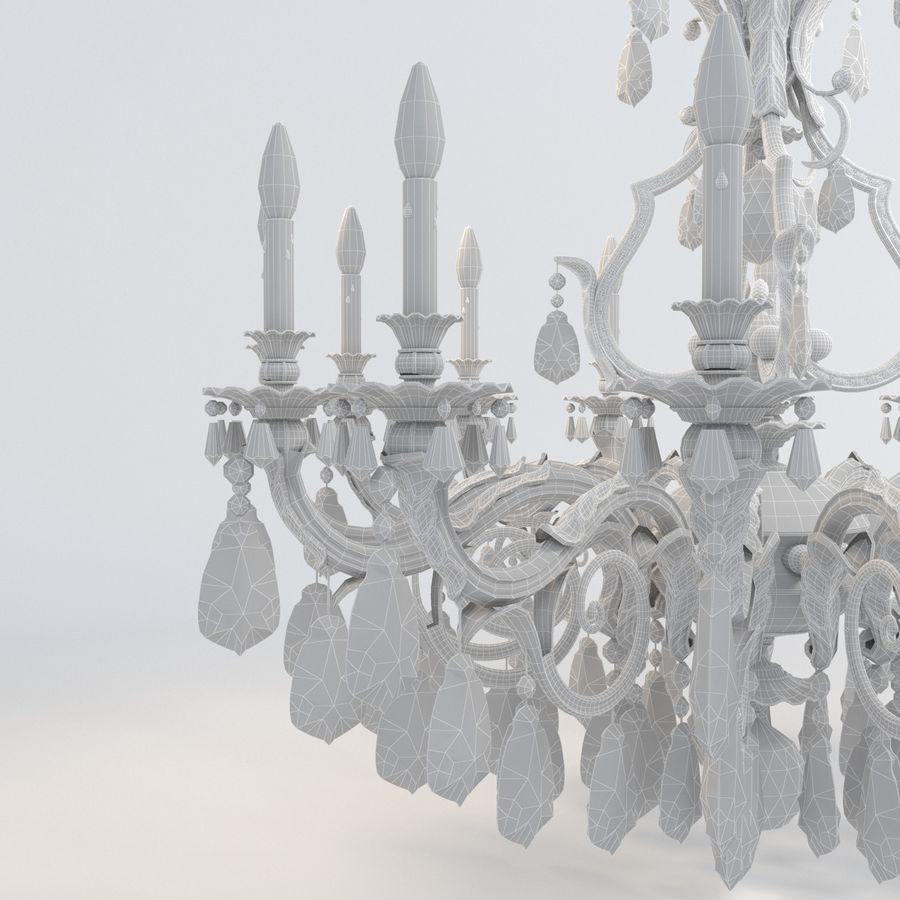 new orleans luster royalty-free 3d model - Preview no. 9