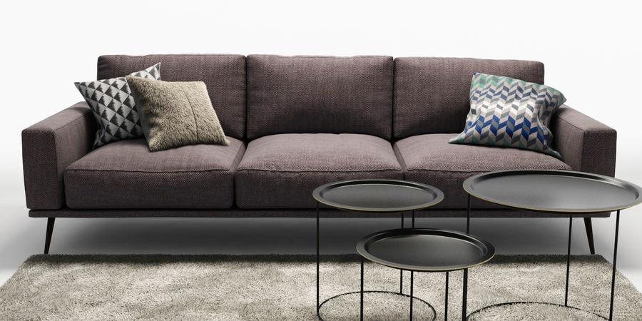 Bo_Concept_Carlton royalty-free modelo 3d - Preview no. 2