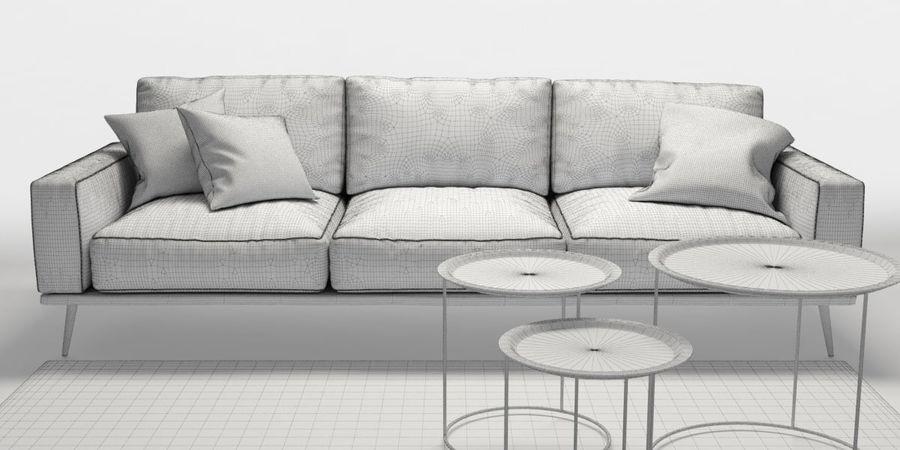 Bo_Concept_Carlton royalty-free modelo 3d - Preview no. 5